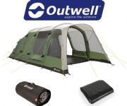 Outwell Willwood 5 Tent 2020 (Incl: Carpet + Footprint)
